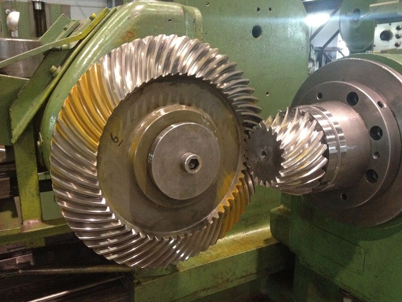 Industrial Applications of Bevel Gears - Bevel Gears (India